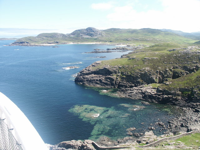 View from the top of Ardnamurchan Light house