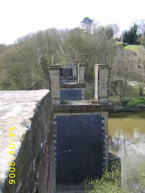 Remains Of Disused Railway Bridge
