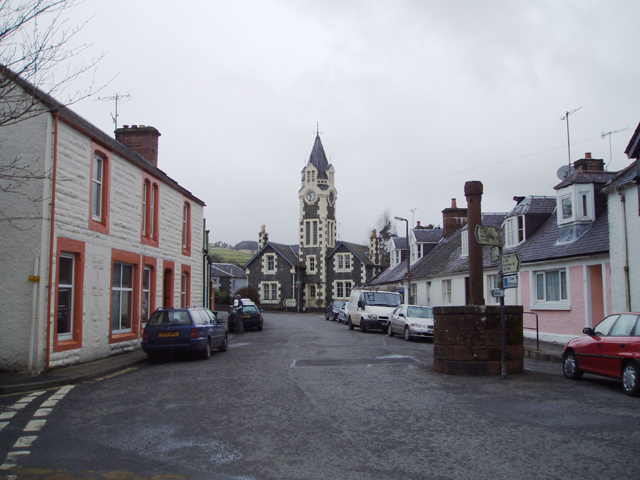 Moniaive Main Street