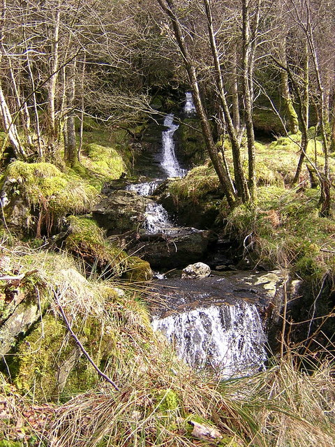 West Highland Way Waterfall