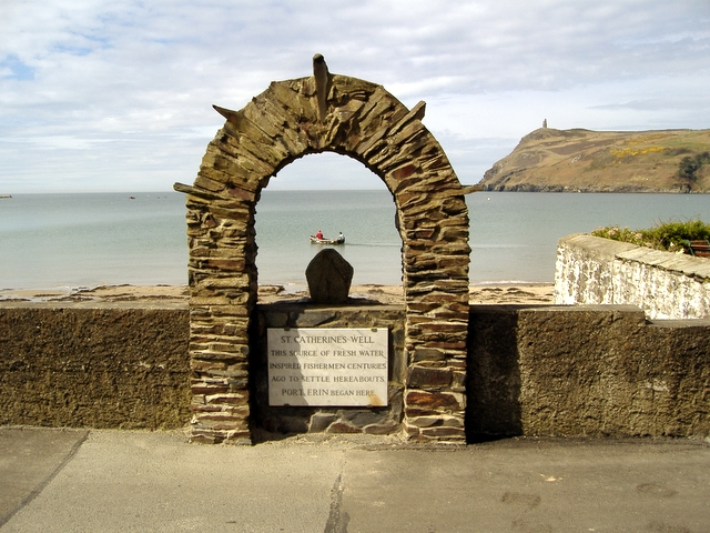 St Catherine's Well, Shore road, Port Erin