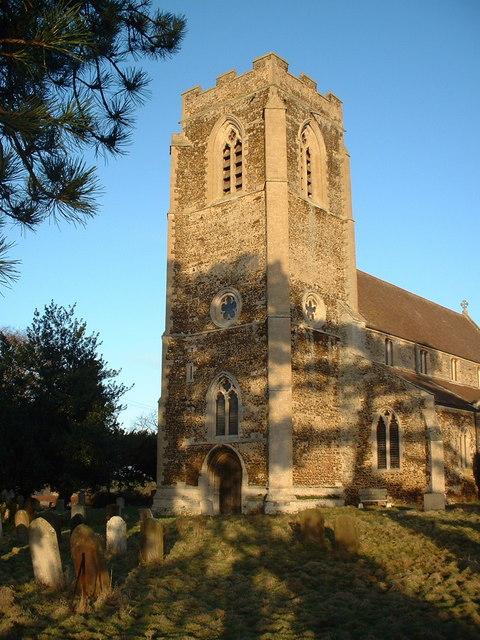 Church of St Peter, Wolferton, Norfolk.