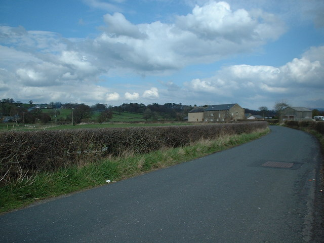 Ease Barn Farm from Gallows Lane