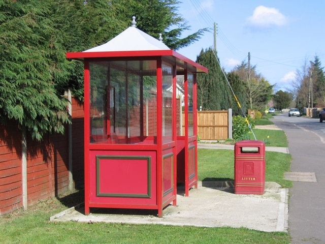 Oriental bus shelter, Alpington