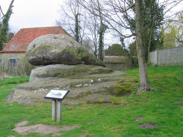 The Chiding Stone - Chiddingstone