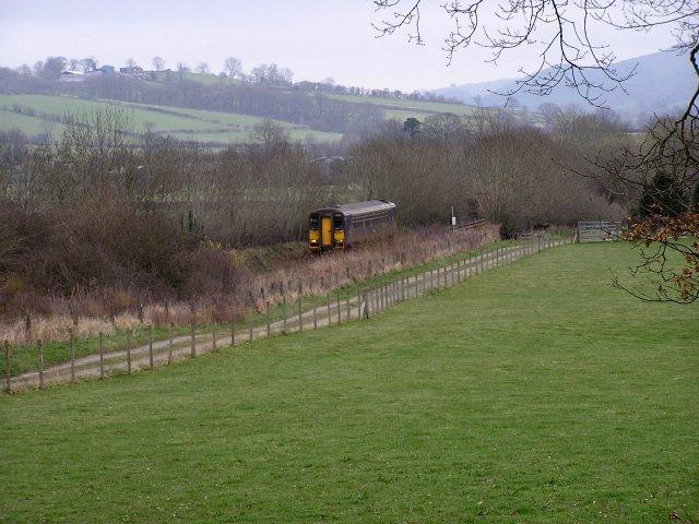 Swansea to Shrewsbury Railway Line