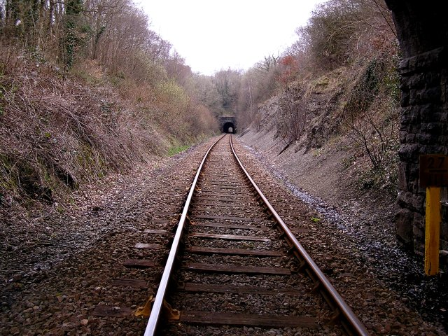 Swansea to Shrewsbury Railway Line