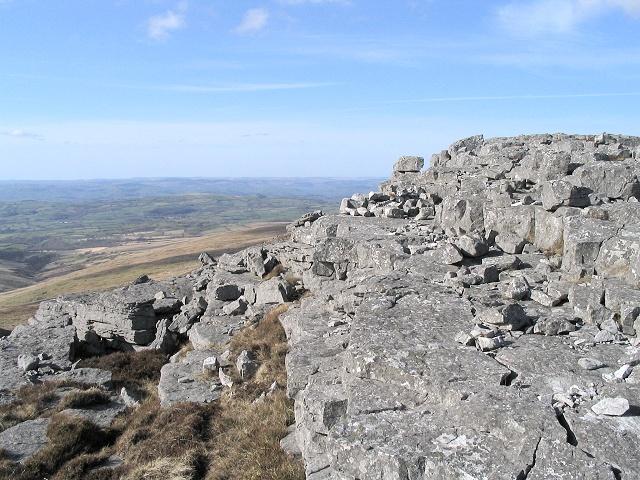 West ledge of Garreg Las