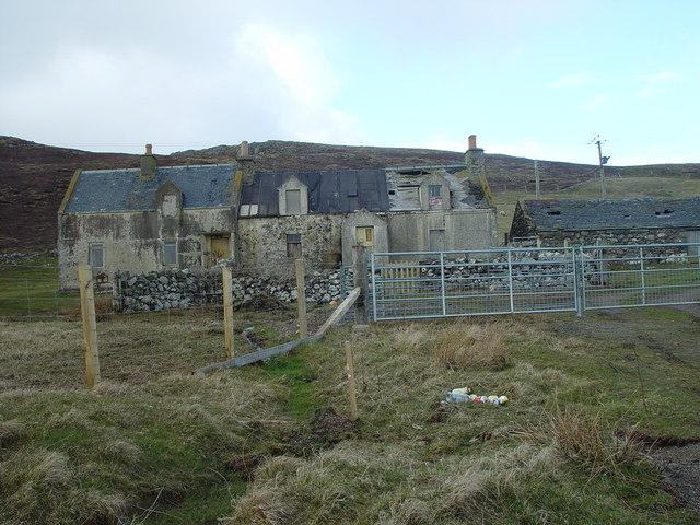 Semi-derelict Crofthouse, Aithsness, Shetland