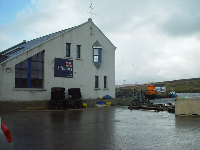 RNLI Aith Lifeboat Station, Shetland