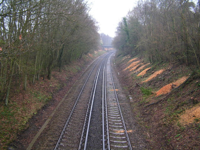Tonbridge to Hastings railway line
