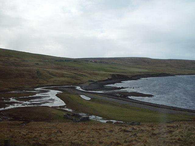 Ayre of Voxter, Gon Firth, Shetland