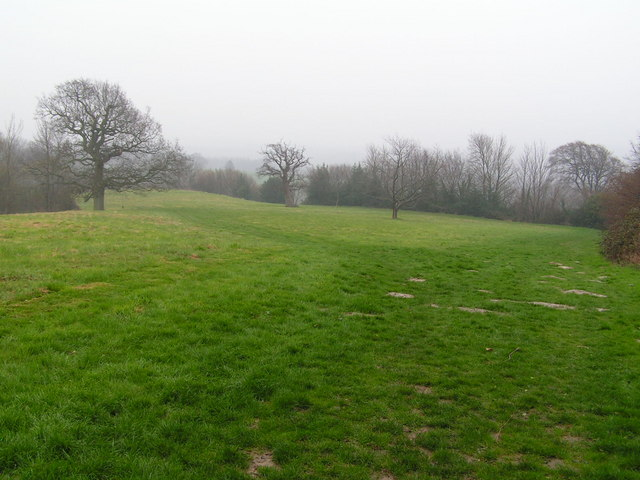 The footpath south into Battle