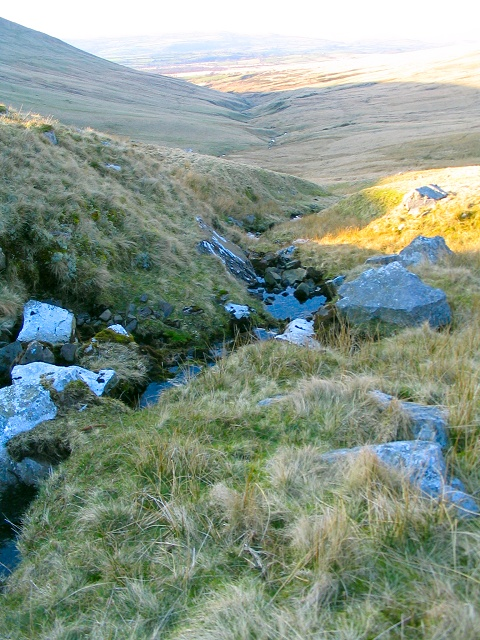 Upper Sawdde Fechan river