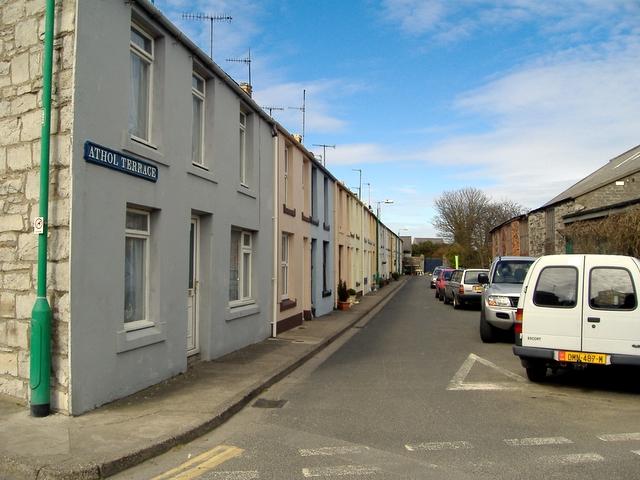 Athol  Terrace, Castletown