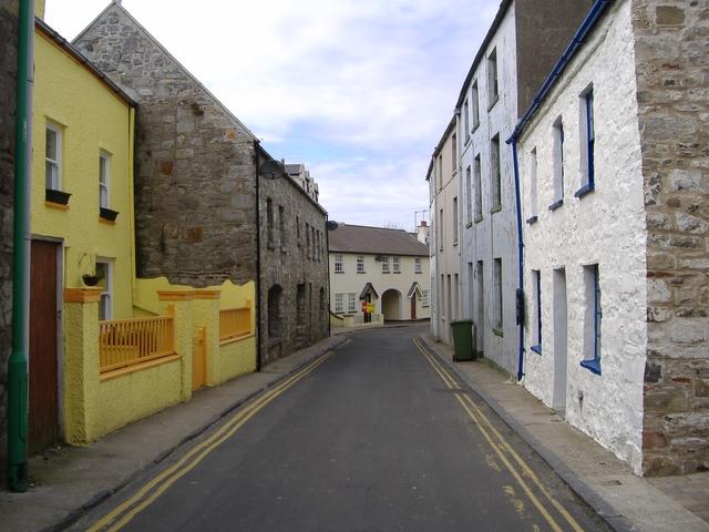Malew street, Castletown