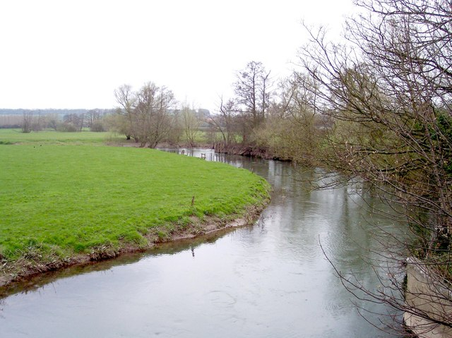 River Lugg at Wergins Bridge