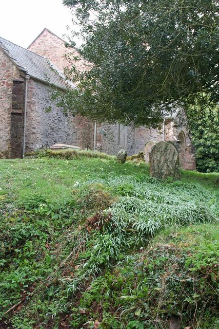 Elworthy: churchyard