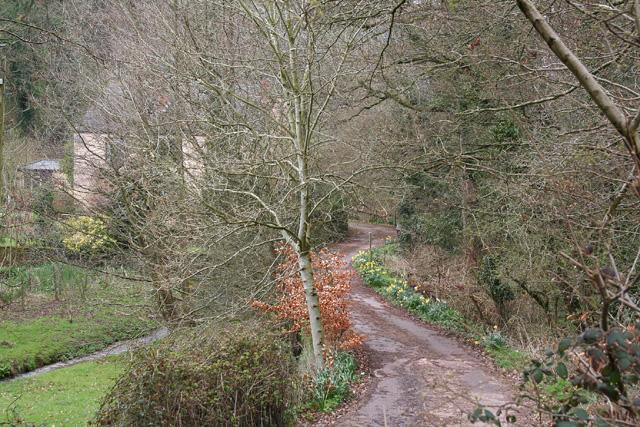 Stogumber: entrance to Culcombe Farm