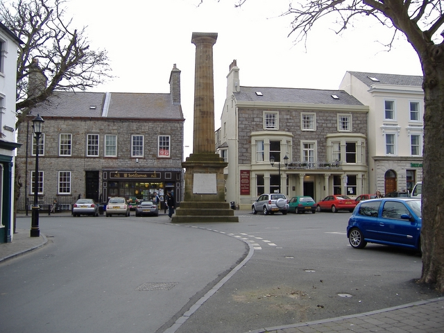'The Square' Castletown