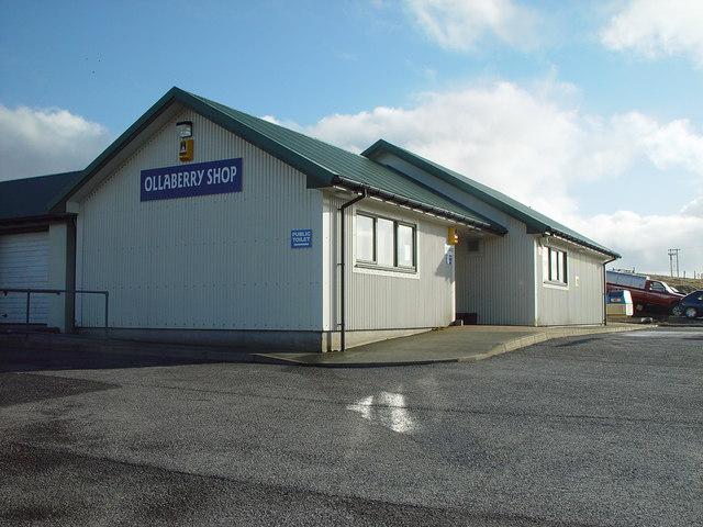 Ollaberry Shop, Shetland