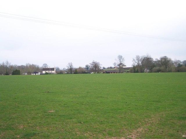 Monmarsh Farm from Litmarsh
