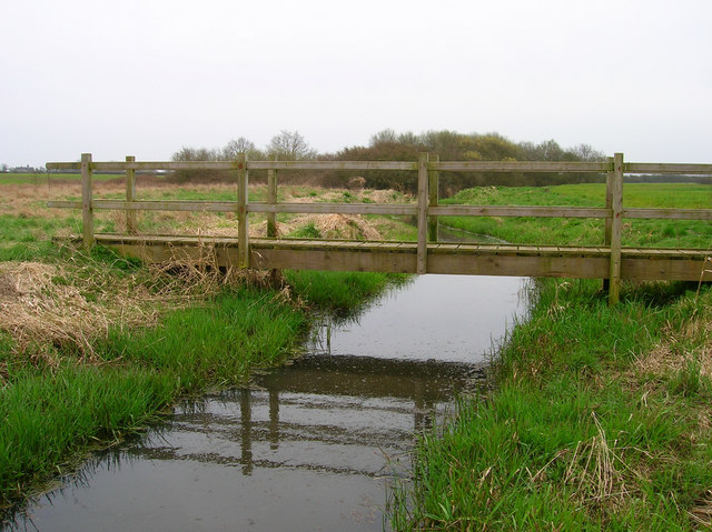 Footbridge, Laughton Level