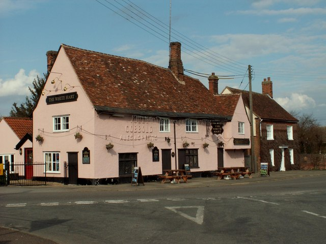 'The White Hart' public house, Hadleigh, Suffolk