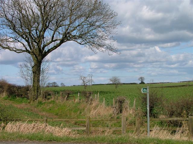Public Footpath to Preston West Farm