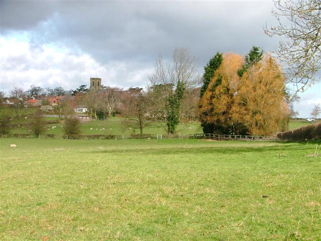 Public Footpath to Ainderby Steeple