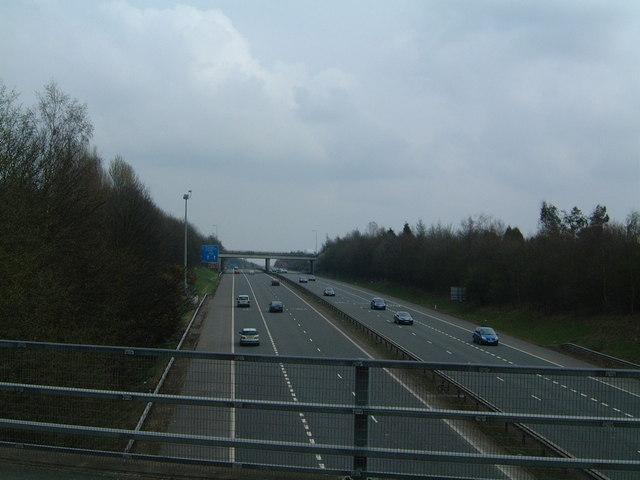 M54 motorway