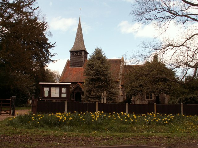 St. Mary's church, Panfield, Essex