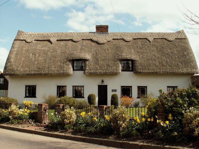 Thatched cottage, Church End, Shalford, Essex