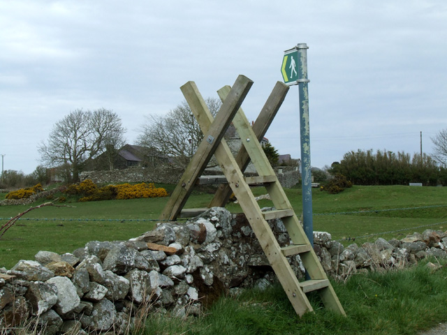 Stile at Bodwrog