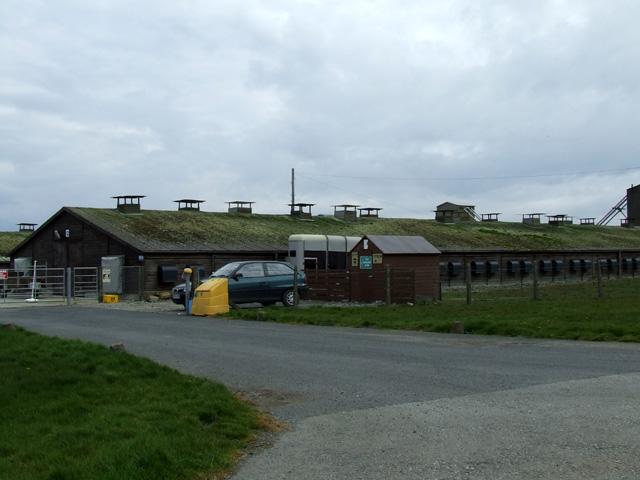 Buildings on a farm