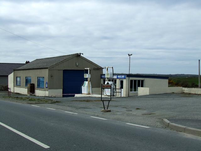 Garage at Llynfaes