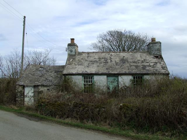 Ty Gwyn derelict cottage