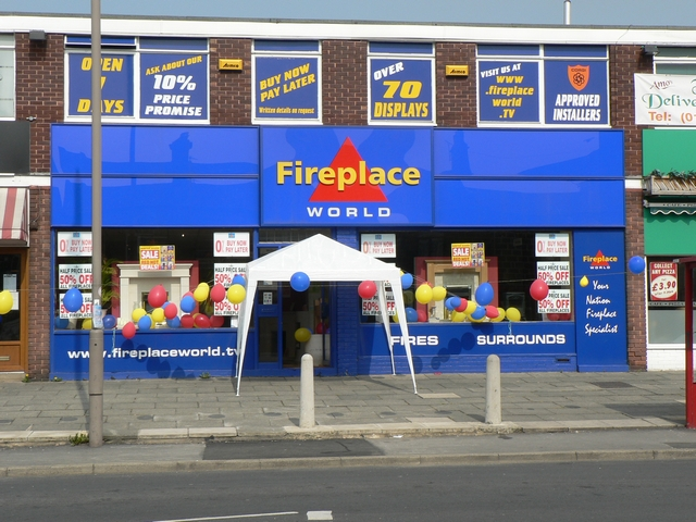 Fireplace World, New Road Side
