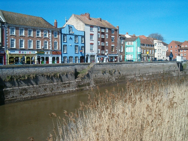 West Quay and the River Parrett