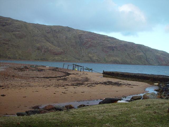 Derelict Pier, Heylor, Shetland
