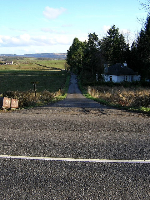 Road End at Lednabra