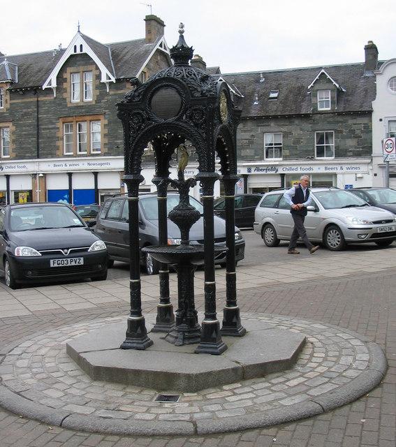 Breadalbane Fountain in Aberfeldy Square