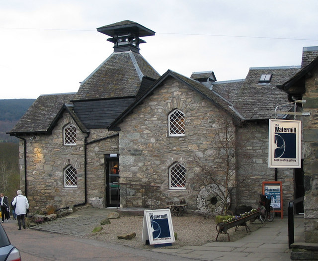 Old watermill building, Aberfeldy