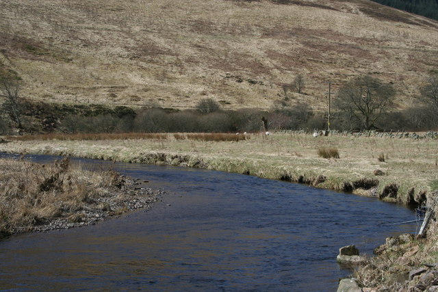 The River Devon near to Glendevon Youth Hostel