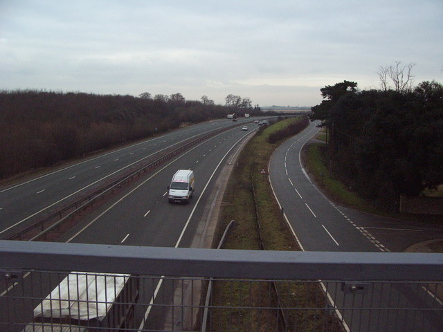 Bridge over A11