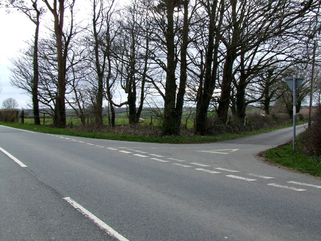 Road Junction on B5110