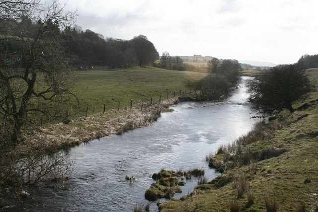 The River Devon north east of Yetts o' Muckhart