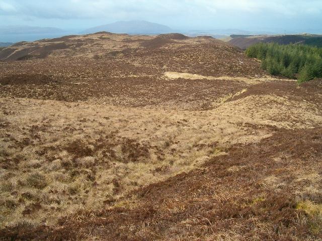 Moorland above Kilbride
