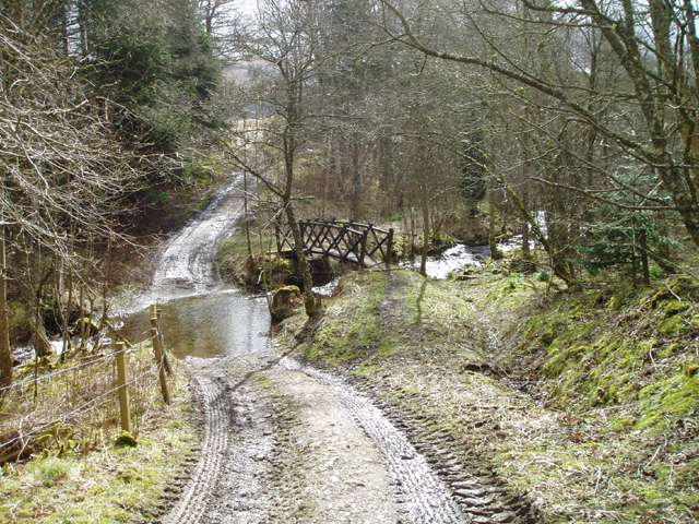 Ford over Lamington Burn
