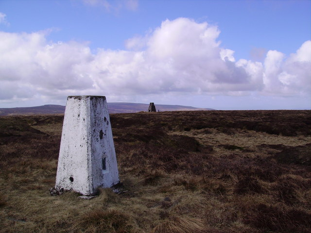 Trig Pillar White Hill